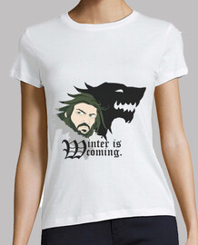 Camiseta Mujer - Winter is Coming