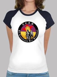 Camiseta mujer ACAB Comunera