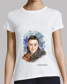 Camiseta mujer Arya Stark juego de tronos