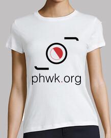camiseta mujer blanca clásica