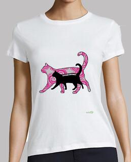 Camiseta mujer: Catlike Instinct - Instinto felino
