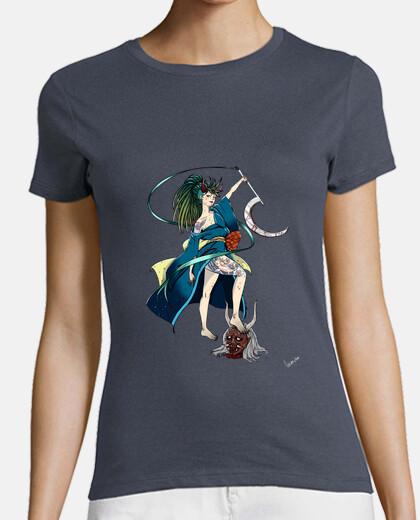 Camiseta Mujer Chica Demonio 2