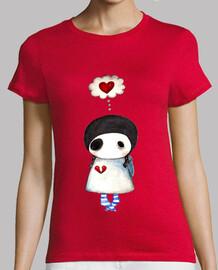 Camiseta mujer Corazón roto