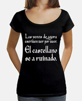 Camiseta mujer cuello ancho & Loose Fit
