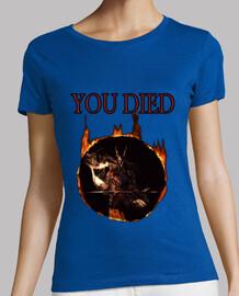 Camiseta mujer Dark Knight - Dark Souls