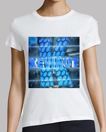 Camiseta Mujer de manga corta con el logo de Kevinut
