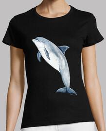 Camiseta mujer Delfín mular (Tursiops truncatus)