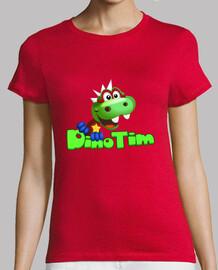 Camiseta Mujer Dino Tim