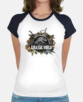 Camiseta mujer, estilo béisbol