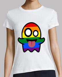 Camiseta mujer fantasma gay - Gaysper - LGTBI