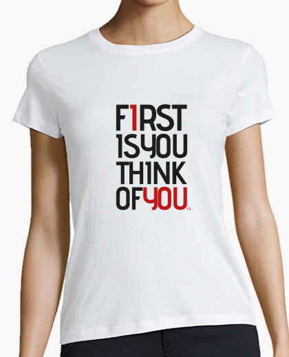 Camiseta mujer First.