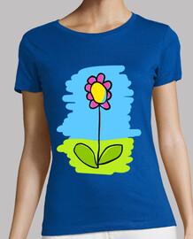 Camiseta mujer Flor
