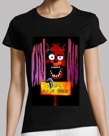 Camiseta Mujer FOXY FNAF Sorry! Out of order!