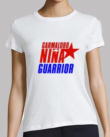 Camiseta Mujer GarmaLobo NIÑA GUARRIOR