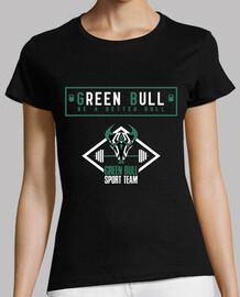Camiseta Mujer Green Bull Sport