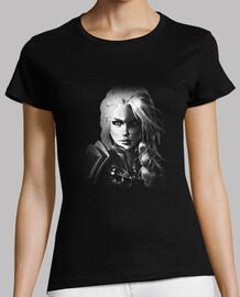 Camiseta Mujer Jaina B&N