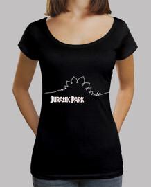 Camiseta mujer Jurassic Park Stegosaurus