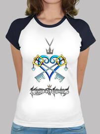 Camiseta mujer Kindom Hearts