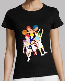 Camiseta mujer Kuroko No Basket