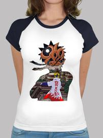 Camiseta mujer Kyubi Atacando Konoha