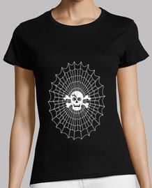 camiseta mujer lienzo web gamer crane darknet