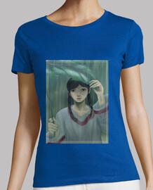 Camiseta mujer lluvia triste