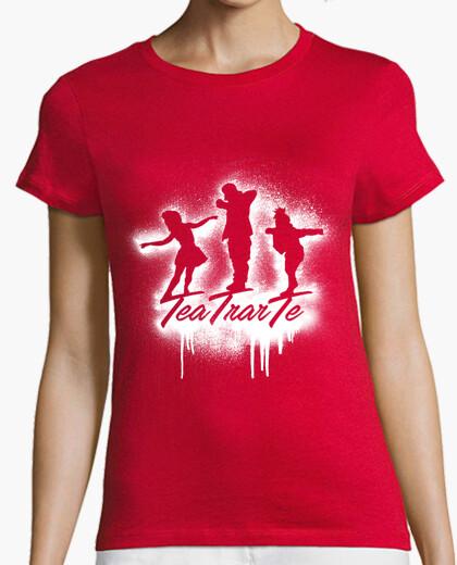 Camiseta Mujer Logo Spray