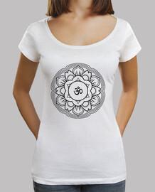 camiseta mujer mandala