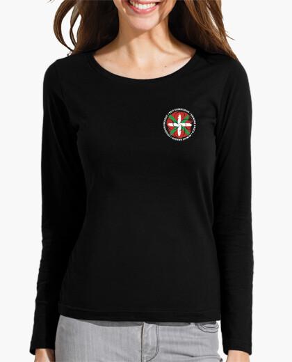 Camiseta Mujer, manga larga, -...