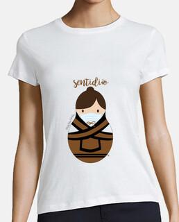 Camiseta mujer. Maruxiña sentidiño