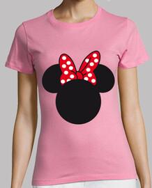 Camiseta mujer Minnie Mouse Silueta