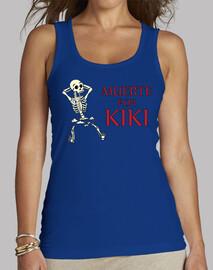 Camiseta Mujer Muerte por kiki