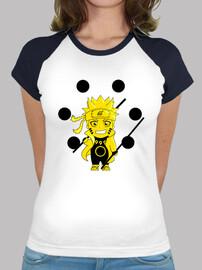 Camiseta mujer Naruto Six Paths