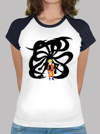 Camiseta mujer Naruto y Kyubi
