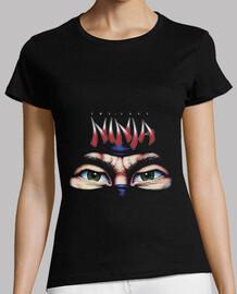 Camiseta Mujer Negra Last Ninja