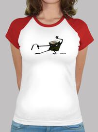 Camiseta mujer NinjaSushi Nuntsaku