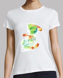 Camiseta mujer PECES Y.ES_038A_2019_Peces