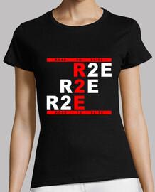 Camiseta Mujer R2E