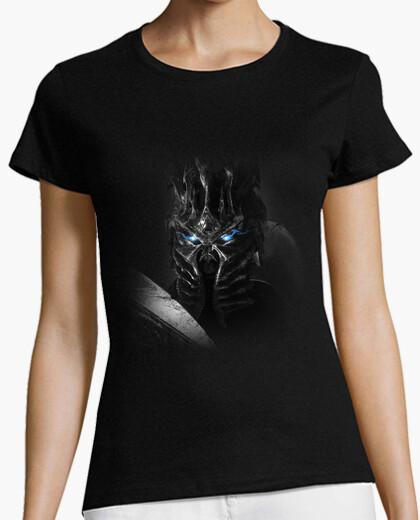 Camiseta Mujer Rey Exánime Bolvar BN
