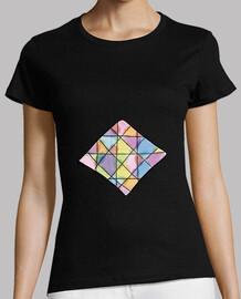 Camiseta Mujer Rombo Colores