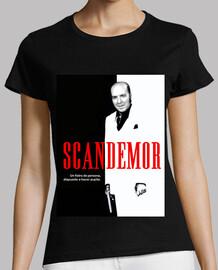 Camiseta mujer Scandemor - Versión de Scarface Chiquito