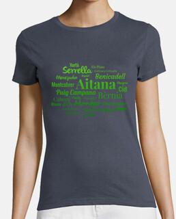 Camiseta mujer Sierras de Alicante N1