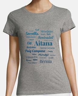 Camiseta mujer Sierras de Alicante N2