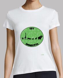 Camiseta mujer: Soy animalista