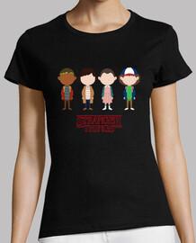 Camiseta mujer Stranger Things