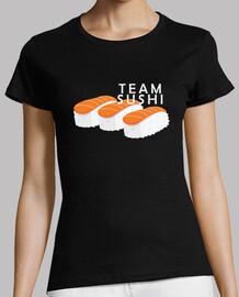 Camiseta mujer team sushi