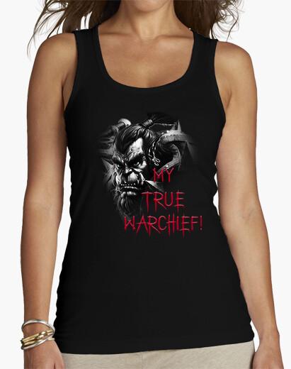 Camiseta Mujer Thrall B&N My True Warchief!