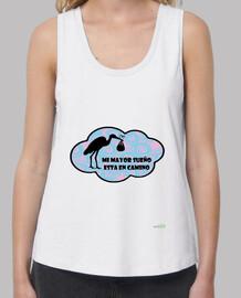 Camiseta mujer tirante ancho: Embarazadas