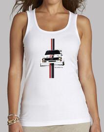 Camiseta mujer tirantes Audi Quattro
