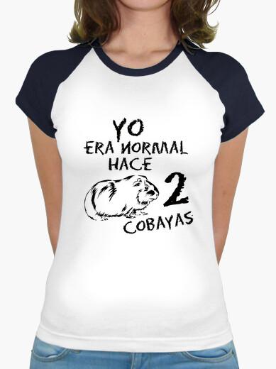 Camiseta mujer Yo era normal hace 2...